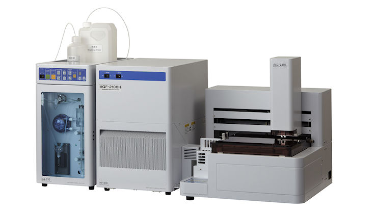 AQF-2100H Ion Chromatograph pre-treatment unit (Combution-IC)