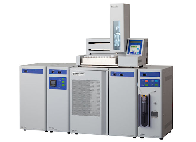 NSX-2100V Trace Elemental Analyzer Vertical  System